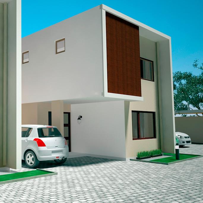 Una vivienda contemporánea